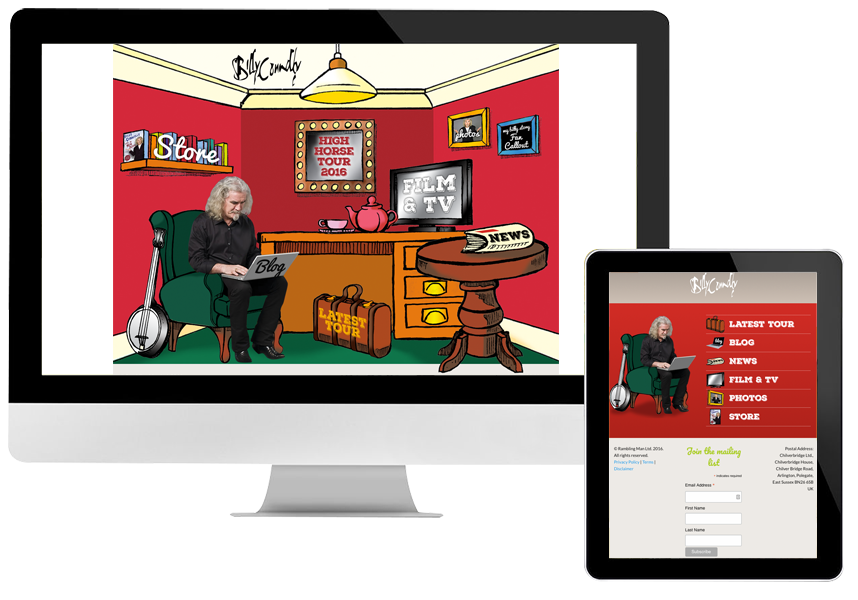Billy Connolly website