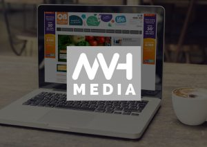 MVH Media magazine website design