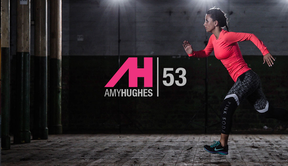 Amy Hughes website design and development