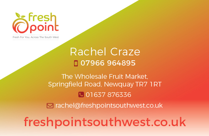 FreshPoint stationery design