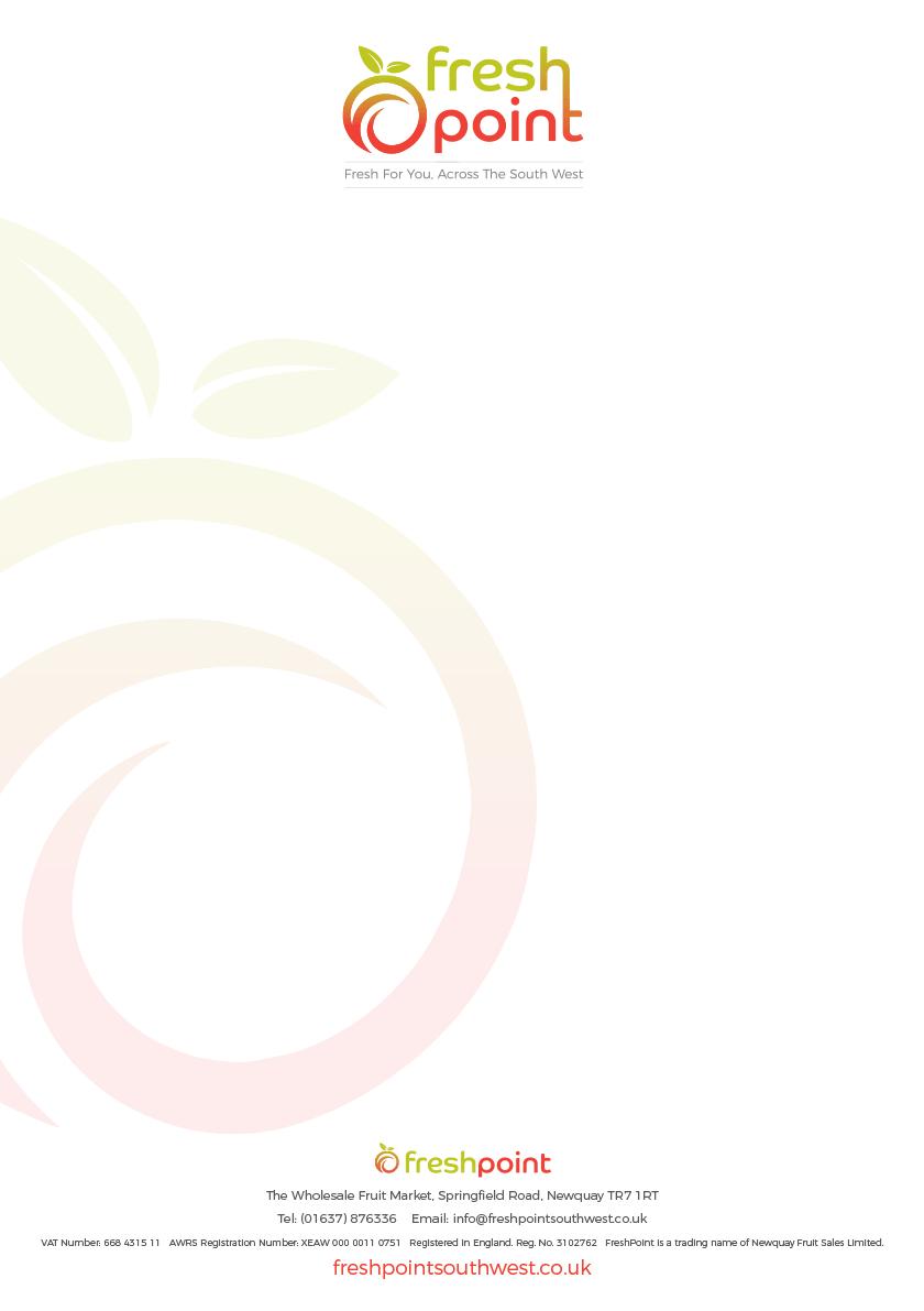 FreshPoint brand design