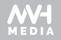 MVH Media logo design