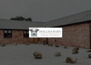Hollies Barn website design