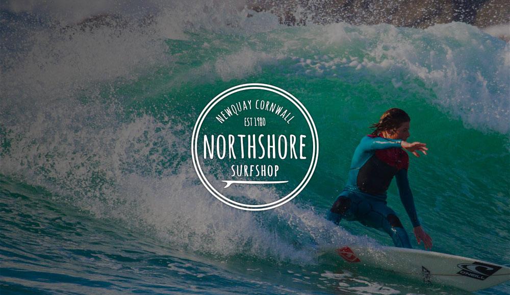 Northshore surf shop website design